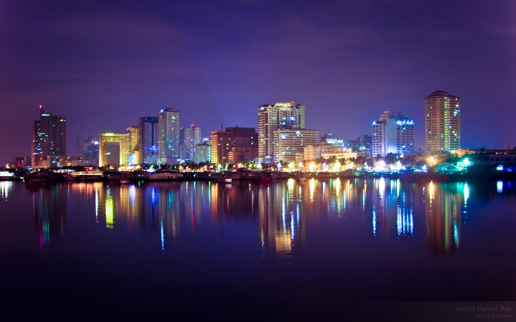 Manila travel - Manila skyline