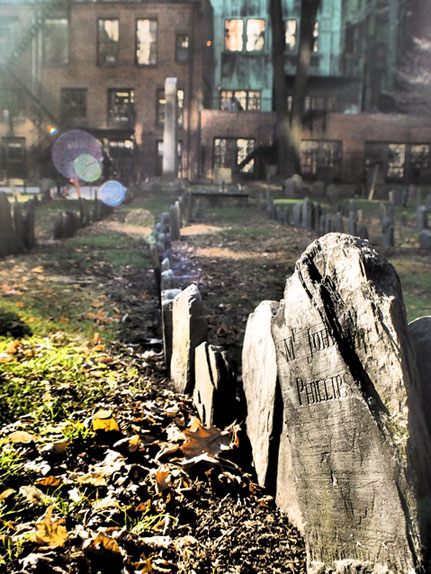 Boston - Granary Burial Ground