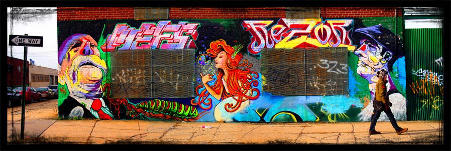 Williamsburg - Graffiti Wall