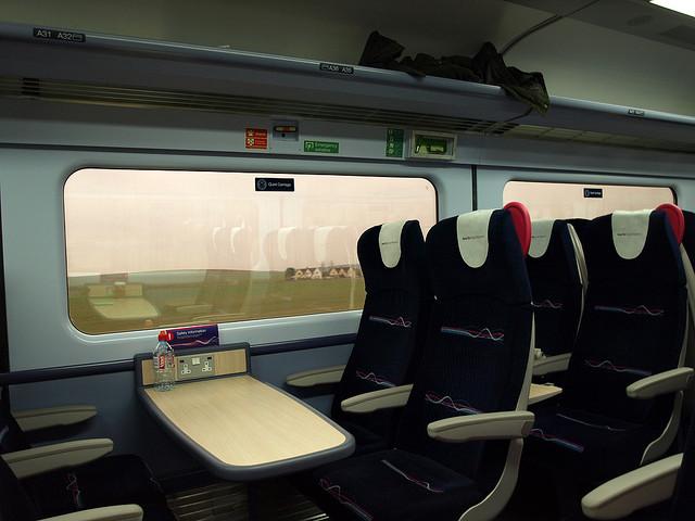 Train Interior - Long Term Travel