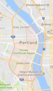 Downtown Portland Map - Best Neighborhoods in Portland