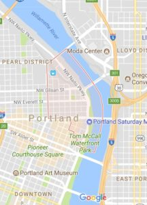 Old Town Map - best neighborhoods in Portland
