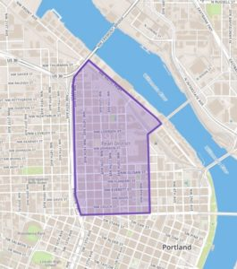 Pearl District Map - Best Neighborhoods in Portland