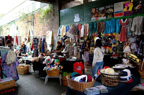 Best London Markets - rick Lane Market