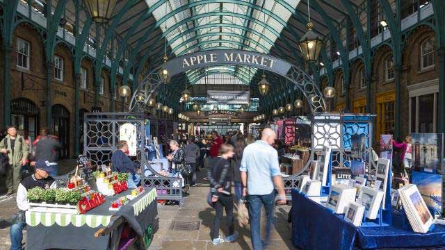 Best London Markets - covent-garden-market