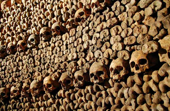 Paris Catacombs - Long Term Travel