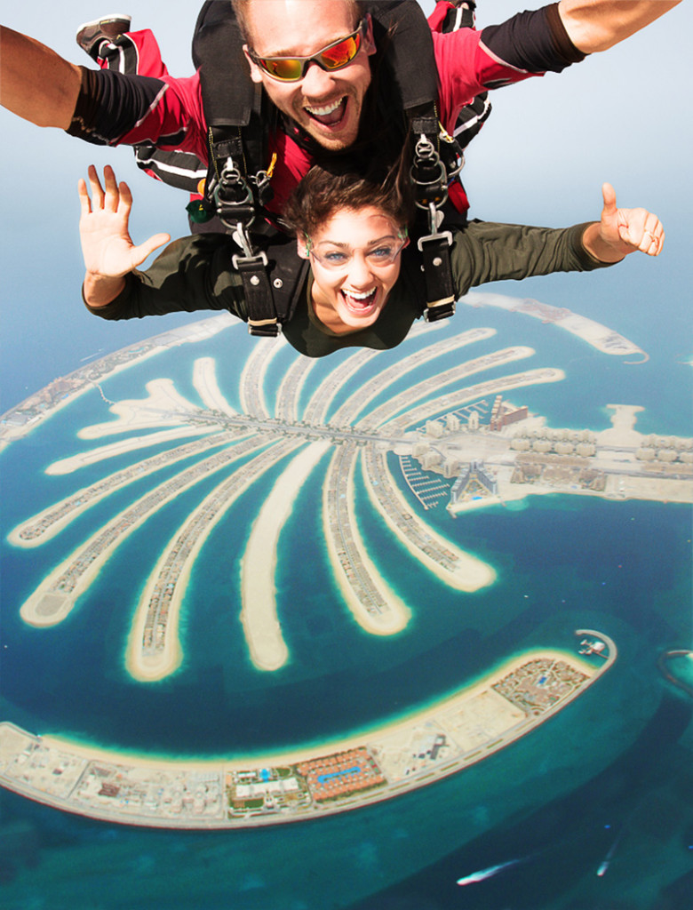Going to Dubai - Skydiving in Dubai