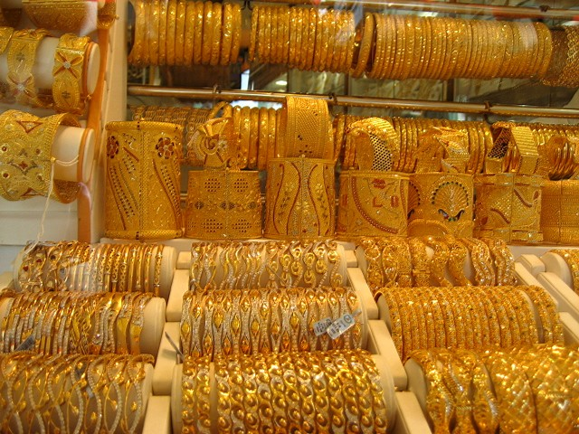 Long Term Travel - Going to Dubai - Dubai Gold markets