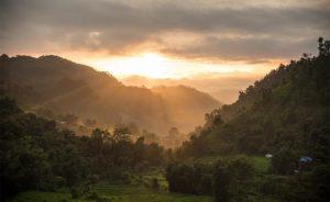 volunteering in Nepal sun