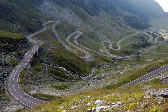 Lysebotn Road Travelling via motorbike