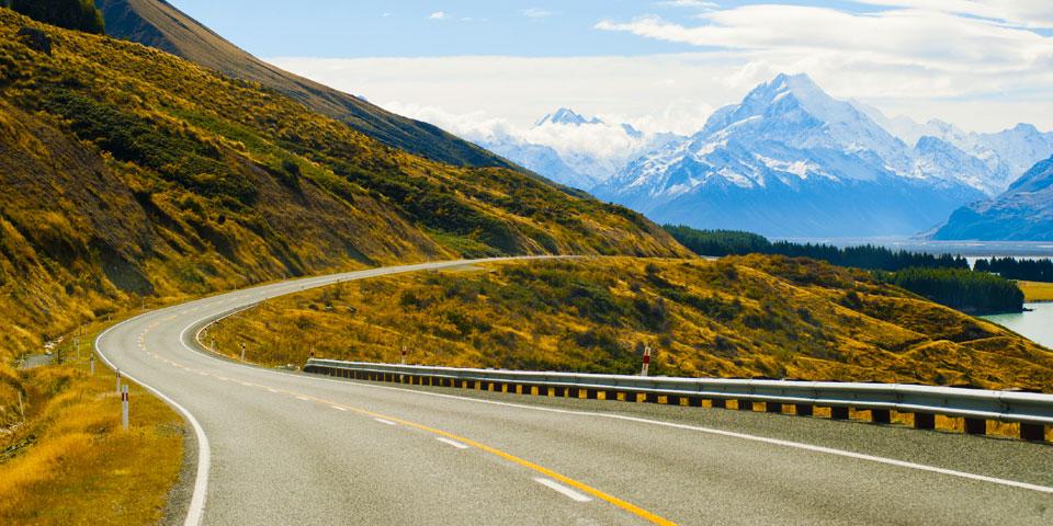 new-zealand Travelling via motorbike