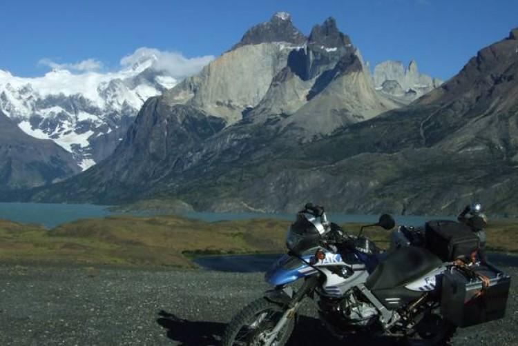Patagonia Motorbike Travelling via motorbike