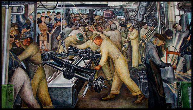 Detroit - The heart of Steel in America:
