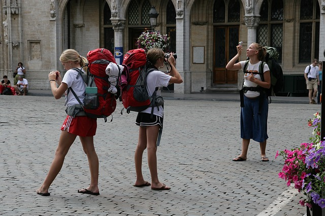 Explore Tourism Travel Backpack Europe World - First Backpacking Trip