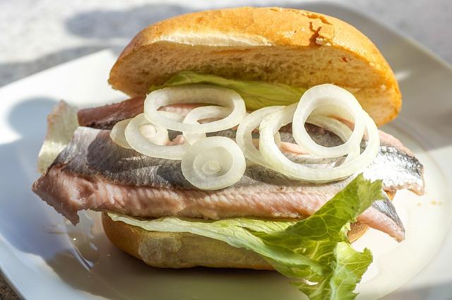 Scandinavian food - Pickled Herring