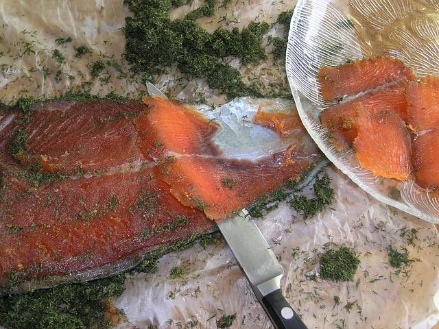 Scandinavian food - Gravlax