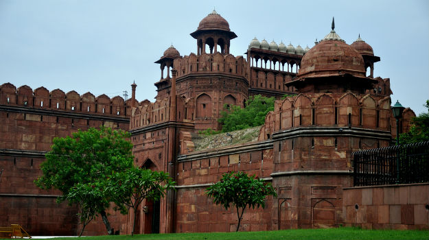 Visiting Delhi - The Red Fort